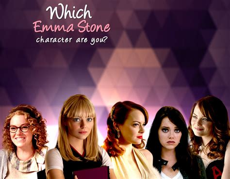Emma Stone Quizzes | which emma stone character are you quiz zimbio