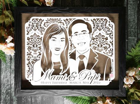 Kado Unik Ulang Tahun Anniversary Wedding Dll hanan dan soeharto cutteristic