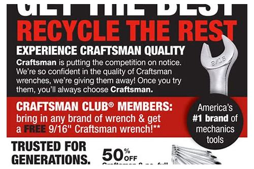 craftsman tools coupons sears