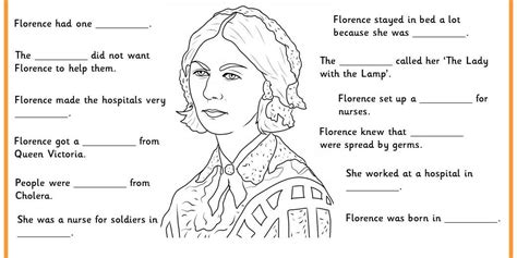 florence nightingale l template florence nightingale facts classroom secrets