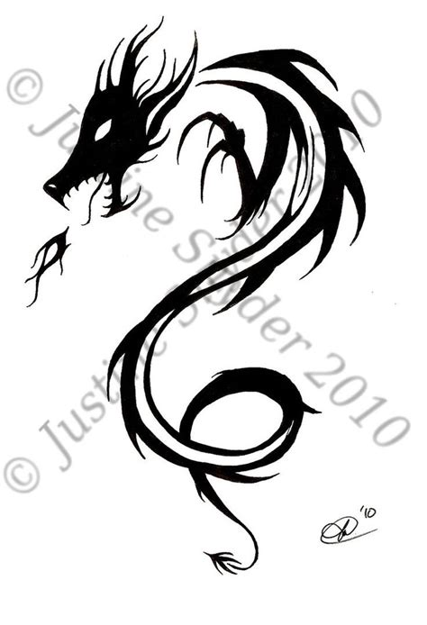 simple dragon tattoo designs simple celtic design tribal design by