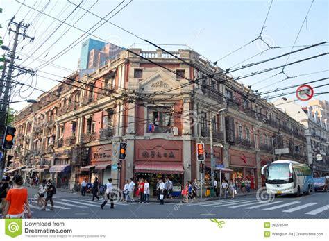 wohnung in shanghai historische wohnung in shanghai china redaktionelles bild