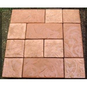 Patio Paver Molds Diy Patio Patio And The Front On Pinterest
