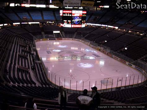 rexall place sections 200 level behind the net rexall place hockey seating