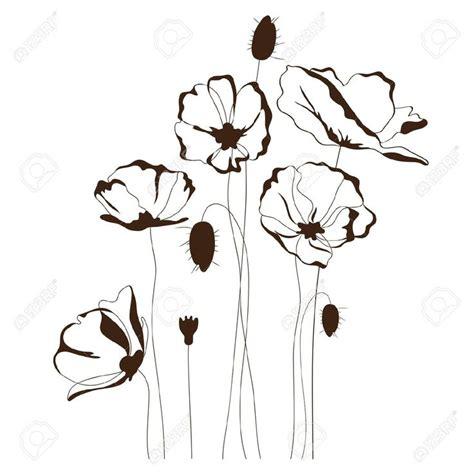 Poppy Wall Sticker oltre 25 fantastiche idee su fiori di papavero su