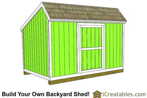 10 x 12 box 10x12 salt box shed plans saltbox storage shed