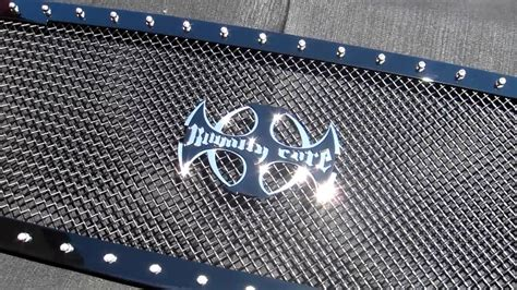 Stop L Japs Costum Grill custom truck grille royalty quality finish