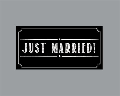 wedding car magnets just married car magnets just married car magnets just