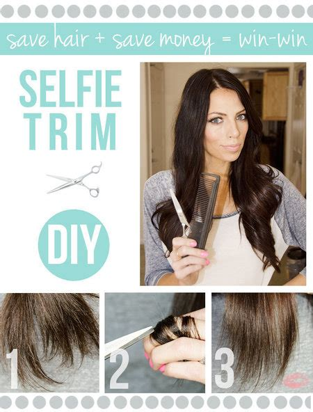 how to cut trim shape your own hair medium length men diy selfie trim have you guys cut your own hair diy