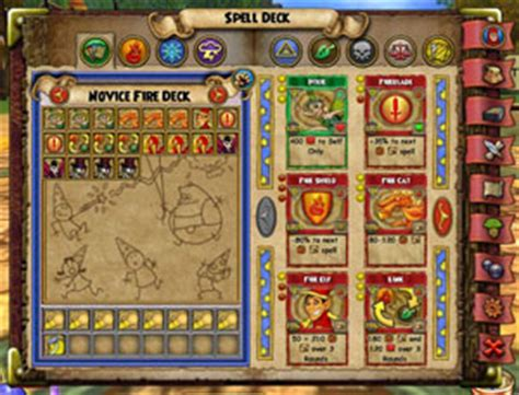 deck of wizard spells card template spell cards wizard101 free