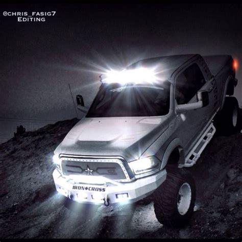 Complete Kit Dual Stacked 50 Inch Led Light Bars For Dodge Dodge Ram Led Light Bar