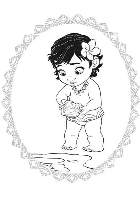 coloring page moana kids n fun com 20 coloring pages of moana