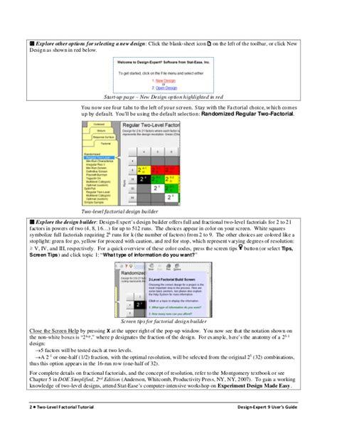 design expert 9 wikipedia 2k factorial experiments homework help