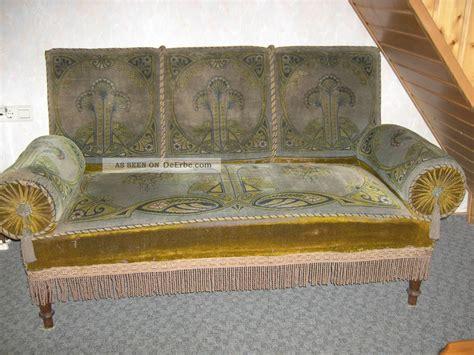 sofa jugendstil antikes sofa jugendstil