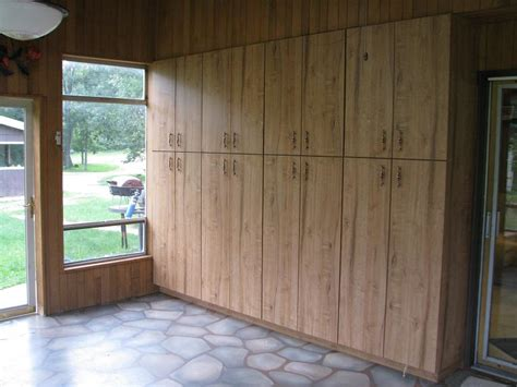 built in garage storage cabinets sandenwood