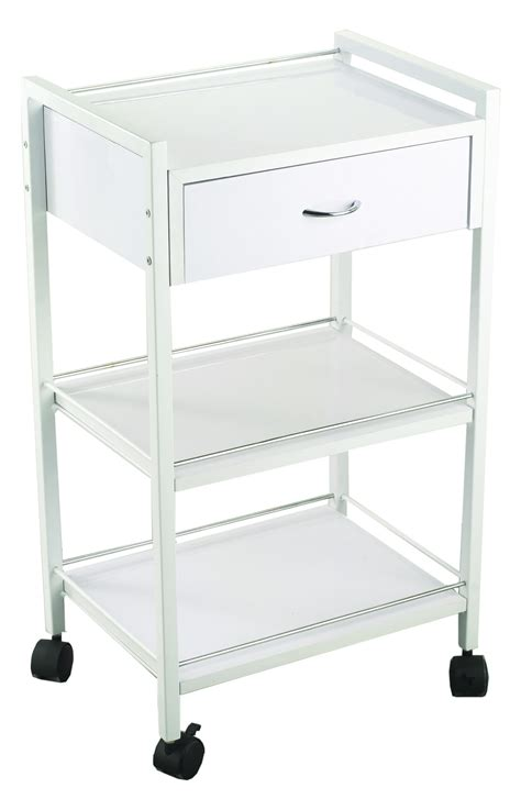trolley 3 tier with 1 drawer by elegans