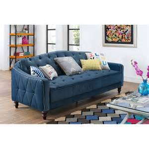 walmart sofa sleeper 9 by novogratz vintage tufted sofa sleeper ii