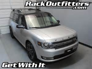 rack outfitters ford flex thule crossroad square bar roof