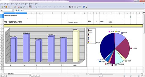 create charts in excel sheet in same sheet along with