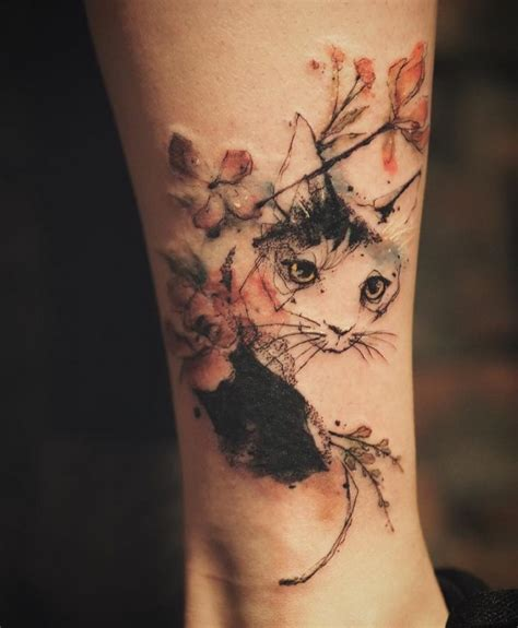 cat tattoos every cat tattoo design placement and style