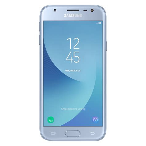 A Samsung Galaxy J3 Telefon Mobil Samsung Galaxy J3 2017 Dual Sim 16gb 4g Blue Coral Emag Ro