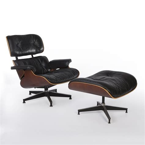 eames lounge chair and ottoman original original herman miller black cherry eames lounge chair