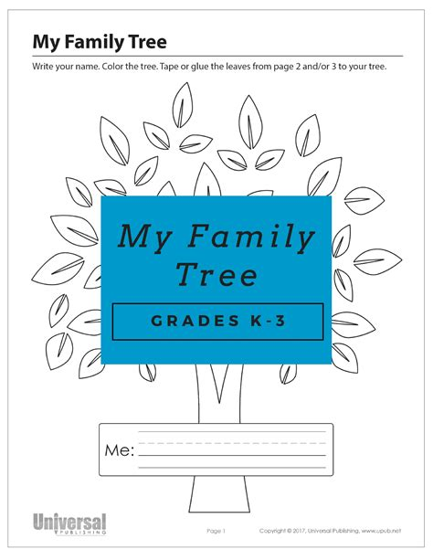 printable family tree with aunts and uncles free worksheets