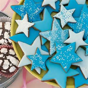 Christmas Winter Wonderland Decorating Ideas - molasses spice star cookies http www parents com recipe cookies molasses spice stars socsrc