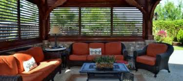 Pergola Blinds And Shutters by Louvered Plantation Shutters For Style And Protection