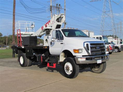 truck in houston ford trucks boom trucks in houston tx for sale