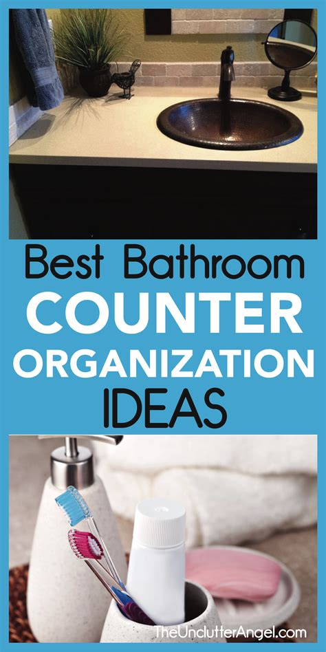 bathroom counter organization ideas best bathroom counter organization ideas the unclutter