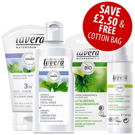 All Seasons Detox Kit by Lavera Cosmetics Special Offer Faces Cleansing