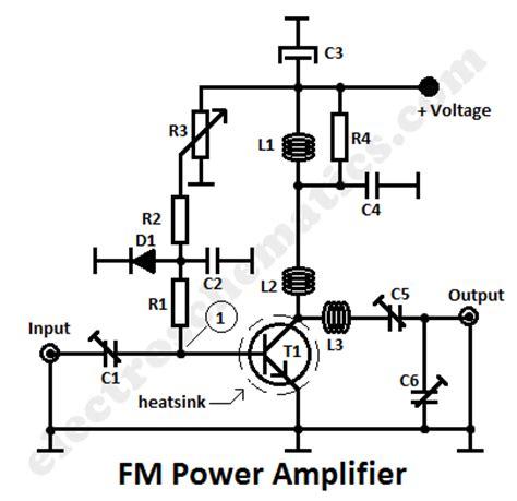 transistor rf lifier circuit 20w fm rf lifier circuit