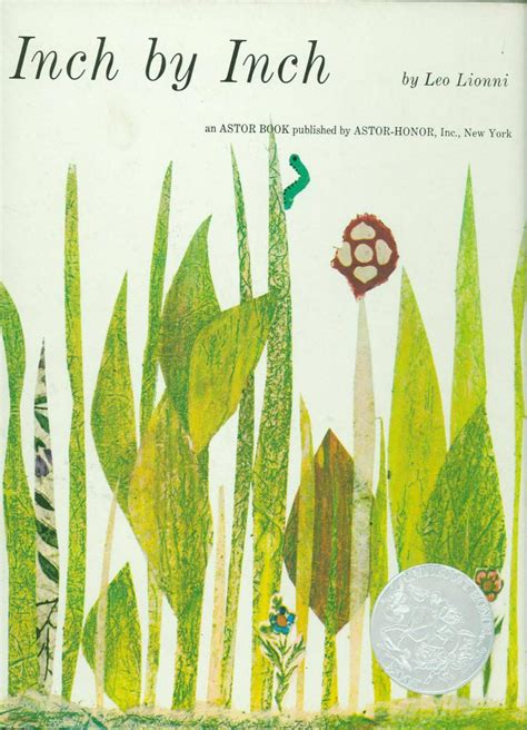 by by inch by inch 1961 caldecott honor book association for