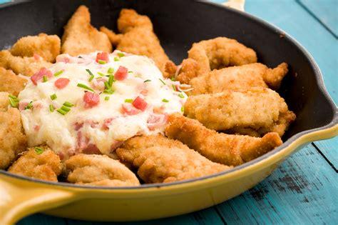 delish chicken recipes chicken cordon bleu dip recipe best party dips delish com