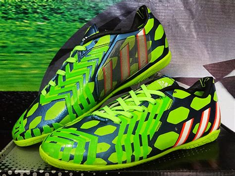 Free Ongkir Sepatu Bestseller Wanita Olahraga Adidas Grade Original sepatu futsal adidas predator instinct biru hijau grade
