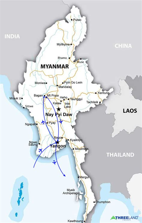 where is myanmar on the map essential myanmar tour mysterious yangon and bagan