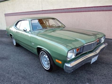1976 plymouth duster for sale purchase used 1976 plymouth duster showing less than 3000
