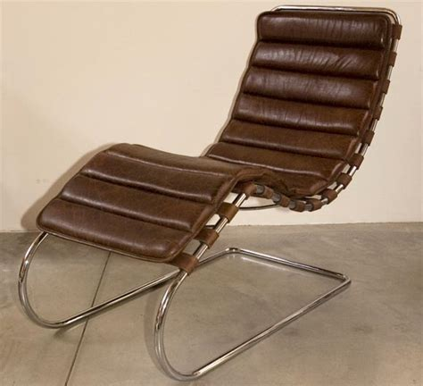 mies van der rohe chaise lounge mies van der rohe chaise lounge at 1stdibs