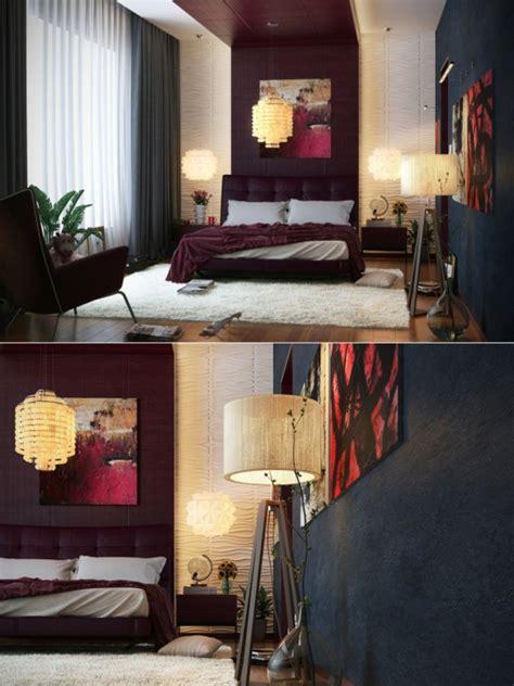 cuarto gris con rojo decoraci 243 n dormitorios 80 ideas que le dejar 225 n sin aliento