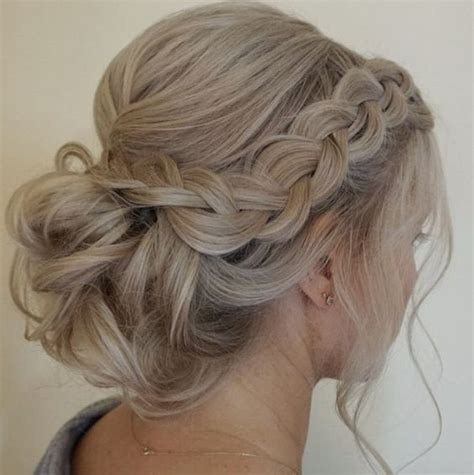 Wedding Hair Designs Bridesmaid by Best 25 Braided Wedding Hair Ideas On Braided
