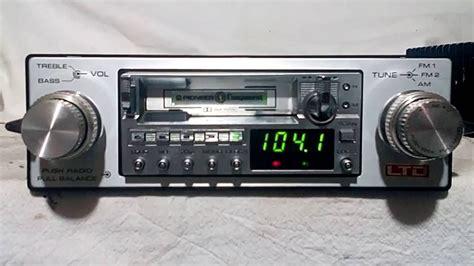 cassette car stereo vintage pioneer kex 50 am fm cassette car stereo w gm 120