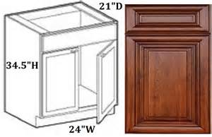 solid wood ready to assemble kitchen cabinets bathroom vanity base cabinet 24 chestnut glazed all solid