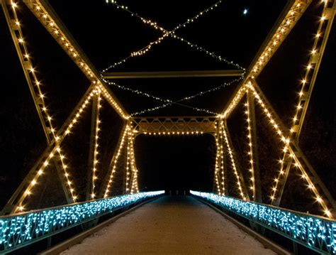 holiday lights on the river memories and the bridge all the pages are my days