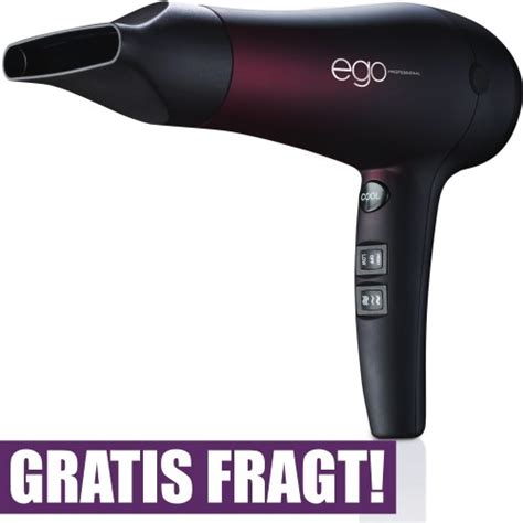 Alter Ego Professional Hair Dryer Mini Straightener ego h 229 rt 248 rrer k 248 kkenredskaber