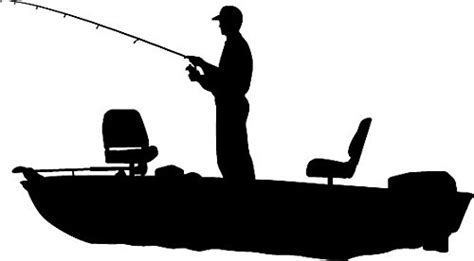 fishing boat silhouette clip art best fishing silhouette 16570 clipartion