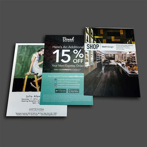 brochure templates new york postcard printing in nyc