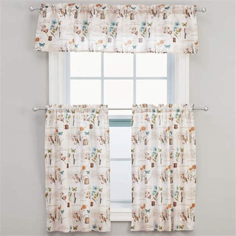 tier curtains and valances le jardin floral tier curtains or valance altmeyer s