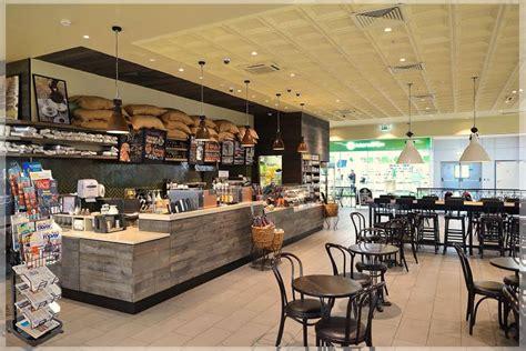 design kedai cafe desain interior warung kopi modern nan sederhana