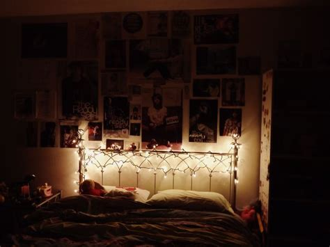 lights around bed fairy lights around headboard apartment ideas